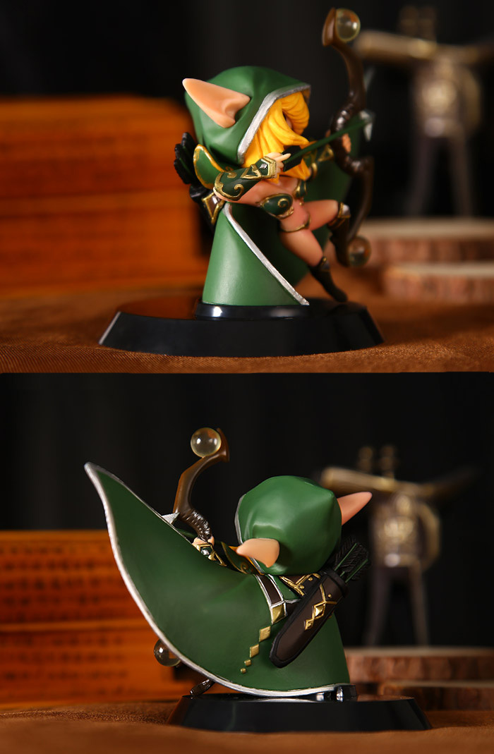 Windranger Demihero Vinyl Action Figure Model Toy