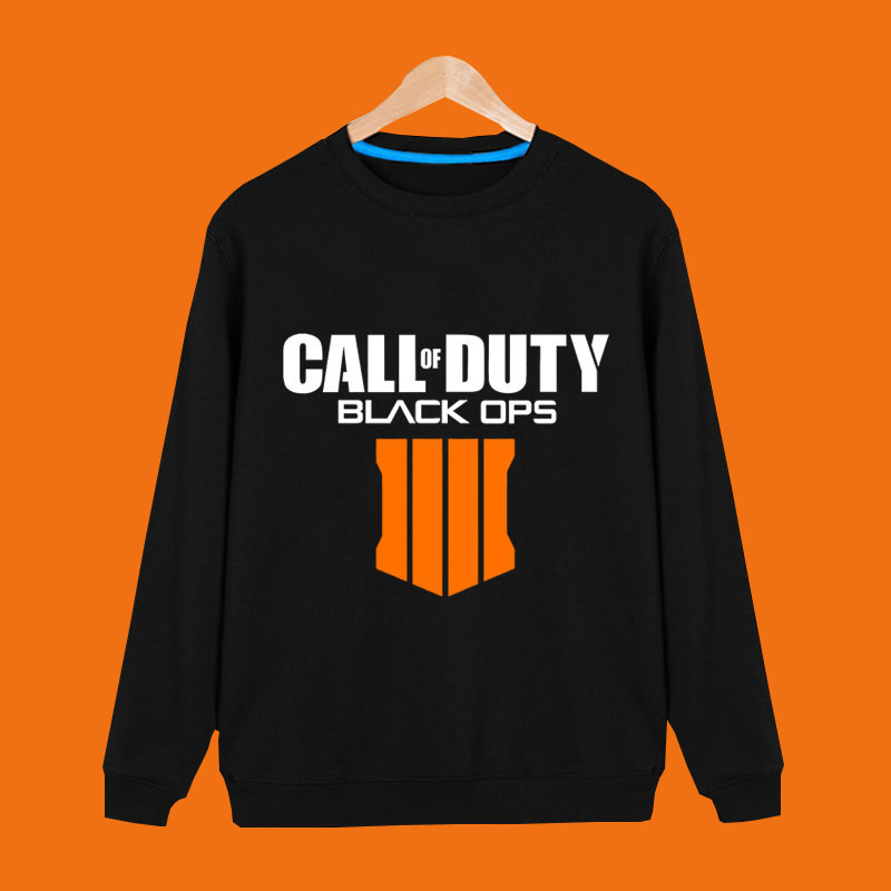 Call of Duty Black OPS 4 Pullover Fleece Hooded Sweatshirt