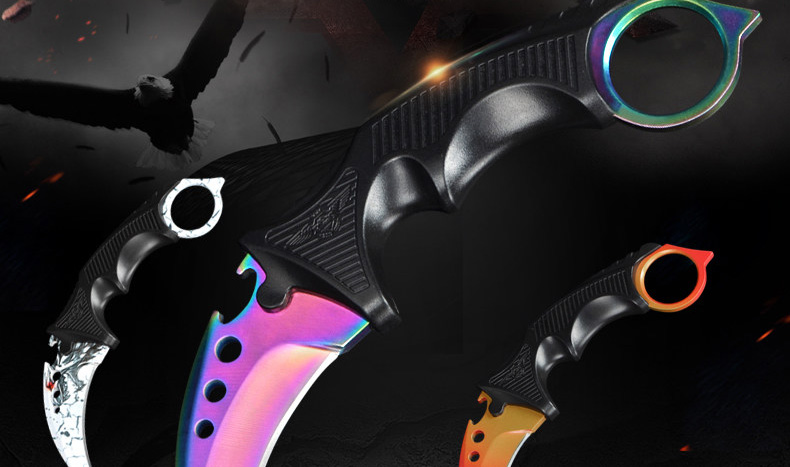 Karambit Claws Knives CSGO Counter Strike Hunting Knives